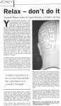 Hypnotherapy feature, The Insight, 2001